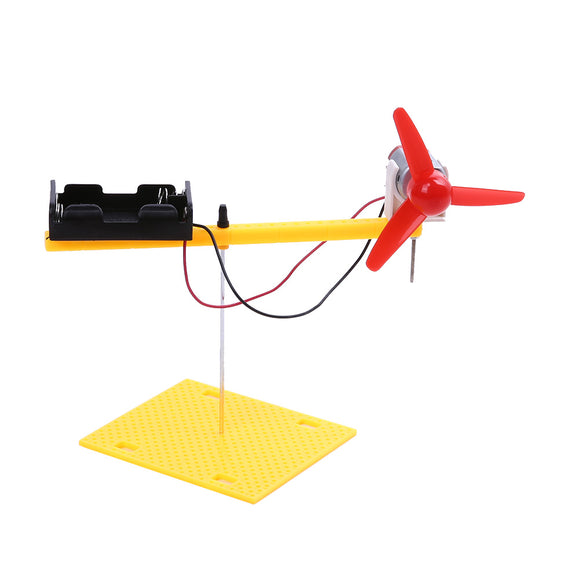 1Set Rotary Wing Physics Experiment Equipment Set Science Toys DIY Manual Model Assembly Atmospheric Mechanics Demo Model