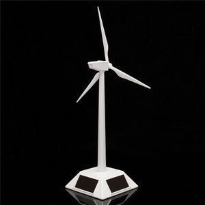 New Arrival Desktop Model-Solar Powered Windmills/Wind Turbine&ABS Plastics Science Toy 11X11X38cm Promotion