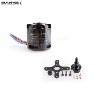 1set RC FPV Sunnysky X3520 KV520 KV720 6S Power Brushless Motor For RC Models FPV Quadcopter drones