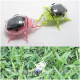 1pcs Hot Solar Ladybug Cute Ladybug Science Educational Toys For Children Wholesale
