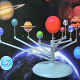 DIY Educational Kids Gift Solar System Celestial Bodies Planets Planetarium Model Building Kit Astronomy Science Toys
