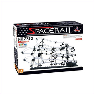 1pcs Toy Roller Coaster Space Rail Level 3 Spacewarp Spacerail Warp Warp Drive Space shuttle Intelligence toys