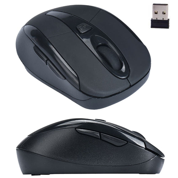 Hot Sale Malloom Portable Computer Accessories  Gaming Mouse 2.4G Wireless Optical Mouse Mice For Computer PC Laptop#30