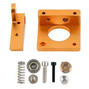 Right Hand 3D Printing Accessories MK8 Extruder Aluminum Block DIY Kit  Single Nozzle Extrusion Head Block For Reprapi3