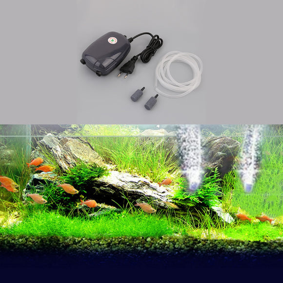 2017 New Professional Aquarium Fish Tank Pond Pump Hydroponic Oxygen 2 Air Bubble Disk Stone Aerator with Stable Performance