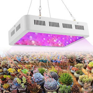 600W 60 LEDs Plant Growing Lamp Hanging Full Spectrum Grow Light with Switch Indoor Plants Vegetable Growing Hydroponics System