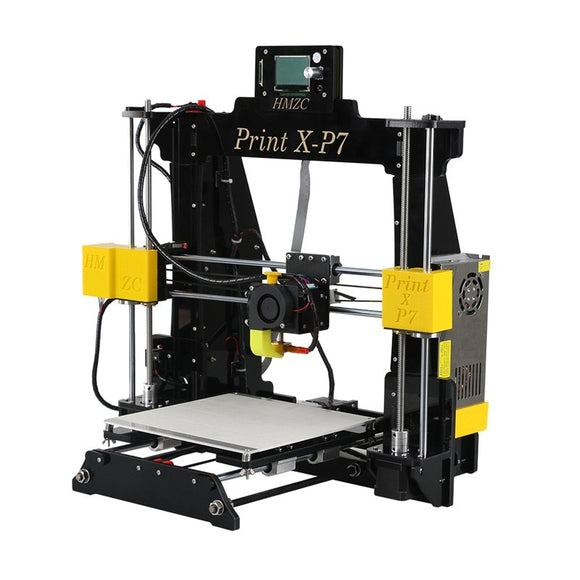 Wholesale Price X-P7 3D Printer DIY Kit 1.75mm / 0.4mm Support ABS / PLA / HIPS 1286 4MINI LCD Screen
