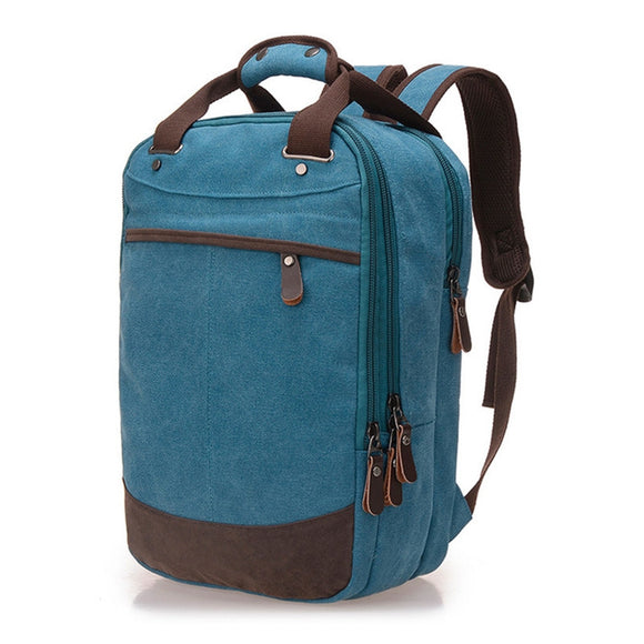 Casual Canvas Computer Backpack