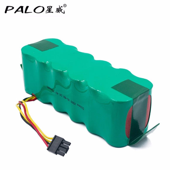 PALO 14.4V Ni-MH 3500mAh Battery Vacuum Cleaner Robot Environmentally Rechargeable Battery Pack for Dibea X500/X580 KK8 CR120