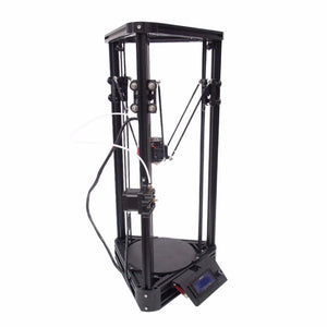 3D Printer Pulley Version Linear Guide DIY Kit Kossel Delta Auto Leveling Large Printing Size 3D Metal Printer With 2G SD card