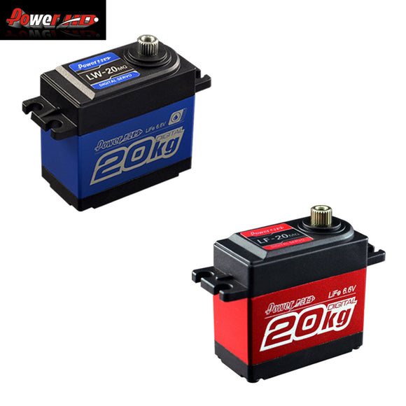 Power HD LF-20MG LW-20MG 20KG Digital Servo HM Cars Aerial Robot Head RC Helicopter Boat Car Better Waterproof