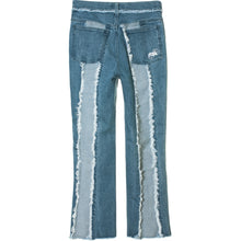 Load image into Gallery viewer, Frayed Denim Jeans