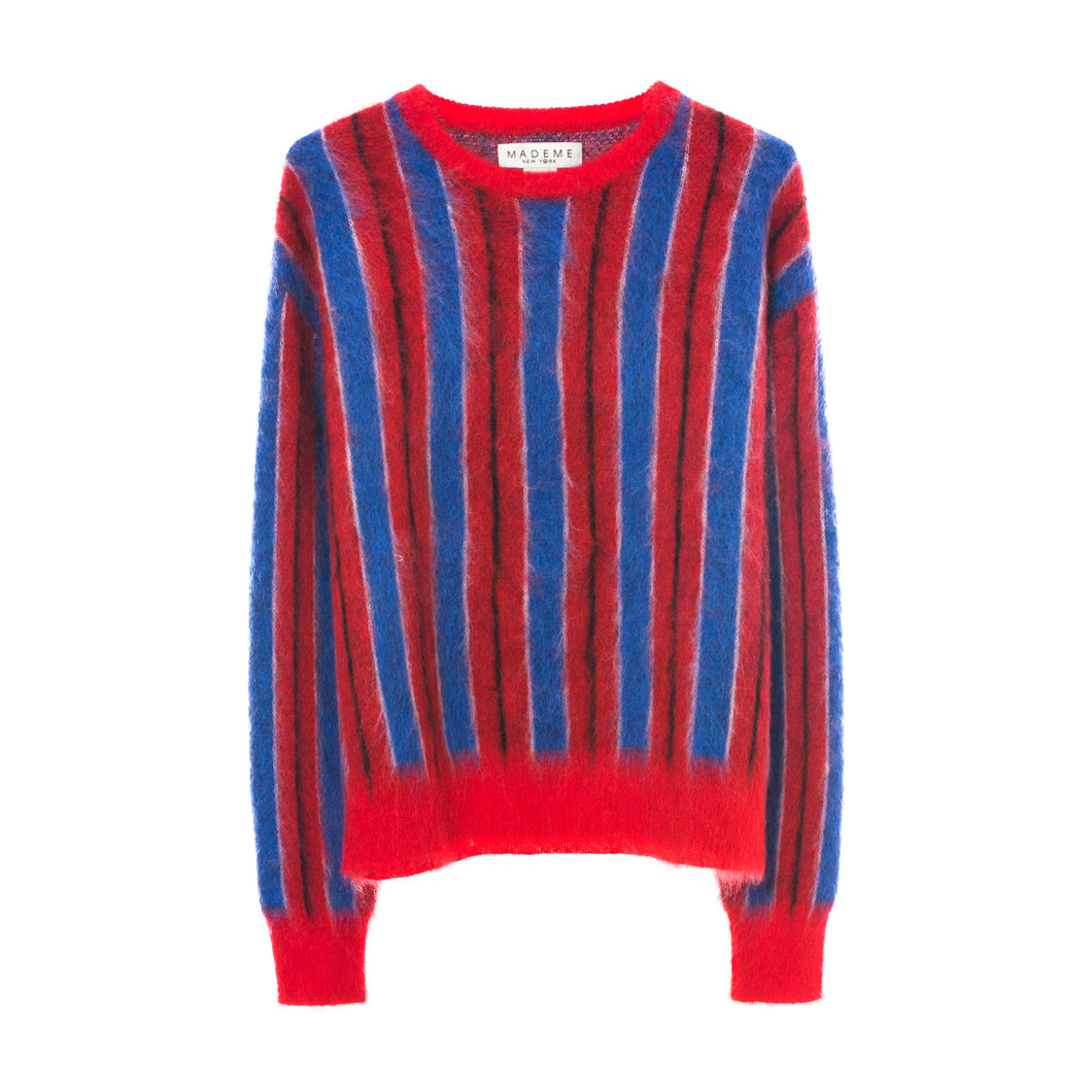 Striped Mohair Sweater