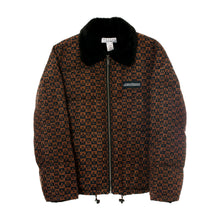 Load image into Gallery viewer, Checkered Logo Puffer Jacket