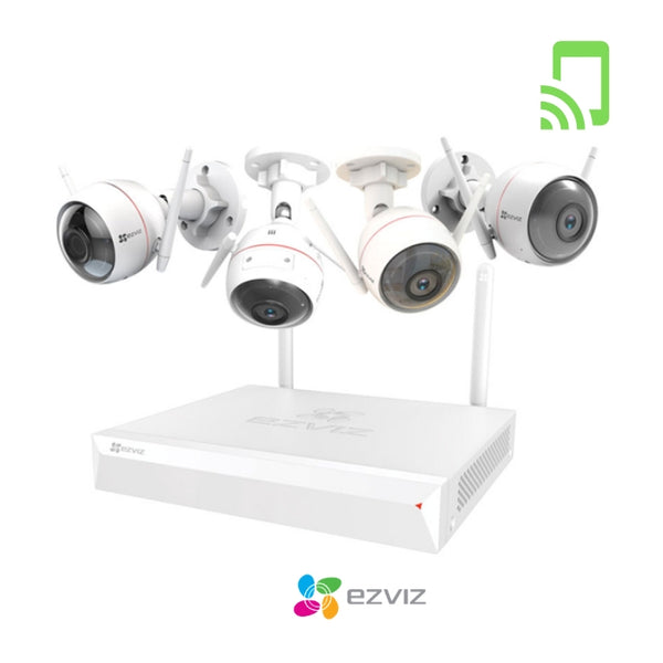 EZVIZ ezWireless Kit FullHD kamerapaketti (WiFi)