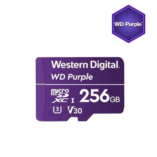 WD Purple surveillance 256GB microSDXC