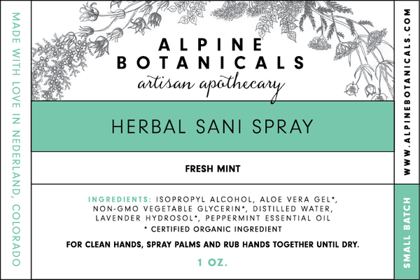 Herbal Sani Spray