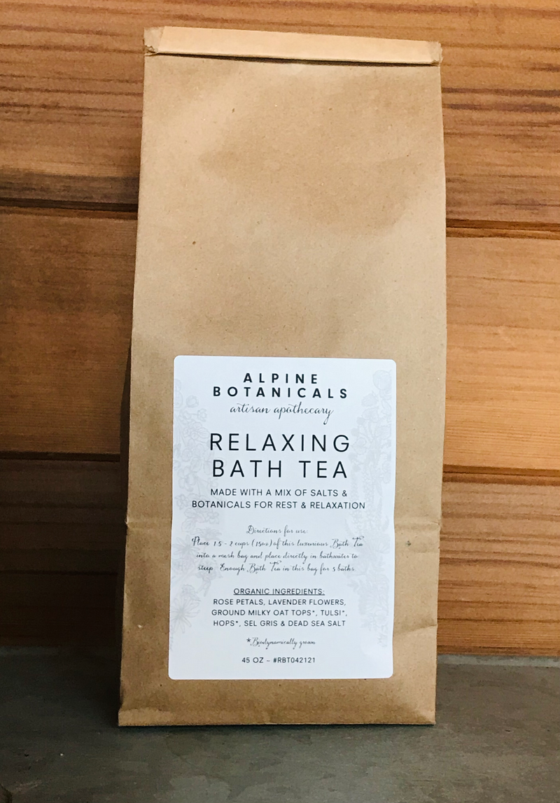 Relaxing Bath Tea