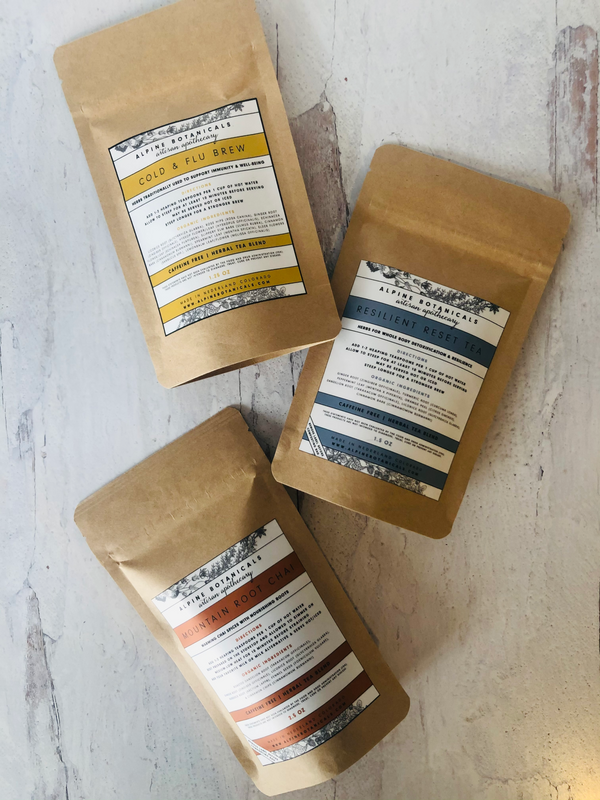 Seasonal Herbal Tea Trio (2 oz Bags) - Save 15%