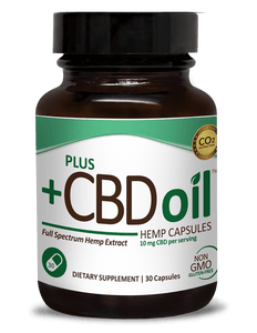 Plus CBD Oil Full Spectrum Hemp Extract  (10mg CBD Per Serving)