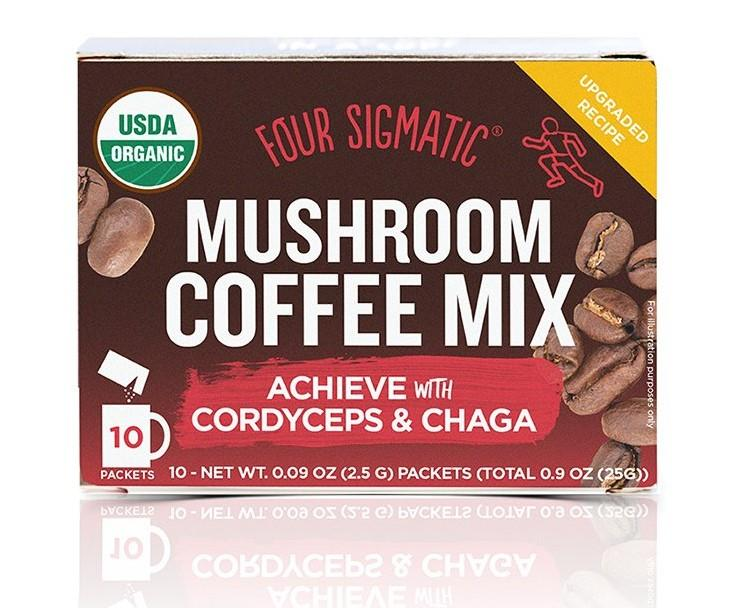 Mushroom Coffee with Cordyceps & Chaga  20% OFF