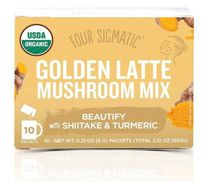 Golden Latte Mushroom with Shiitake & Tumeric - 20% OFF