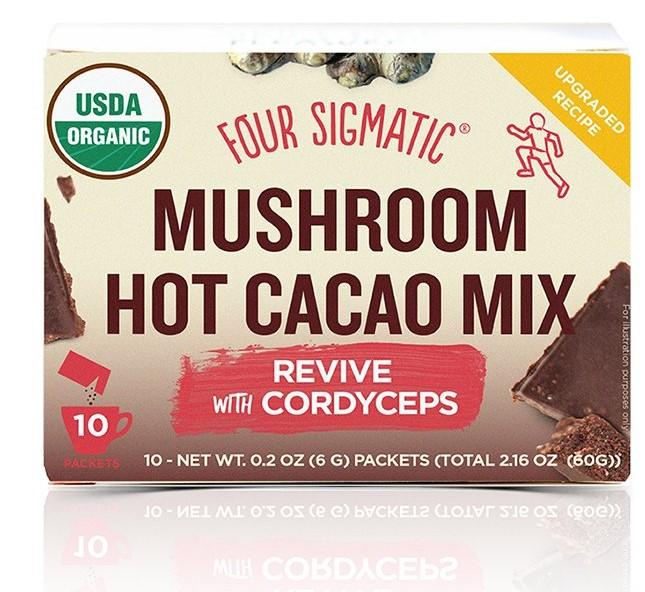 Mushroom Hot Cacao with Cordyceps 20% OFF