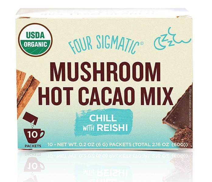 Mushroom Hot Cacao with Reishi 20% OFF