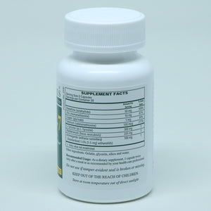 Thy- Rx #60 capsules supplement facts