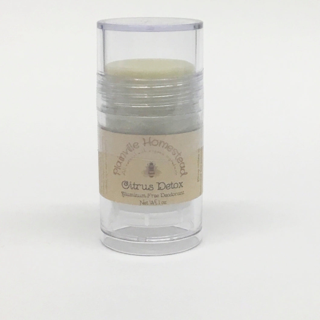 Natural Organic Deodorant by Plainville Homestead