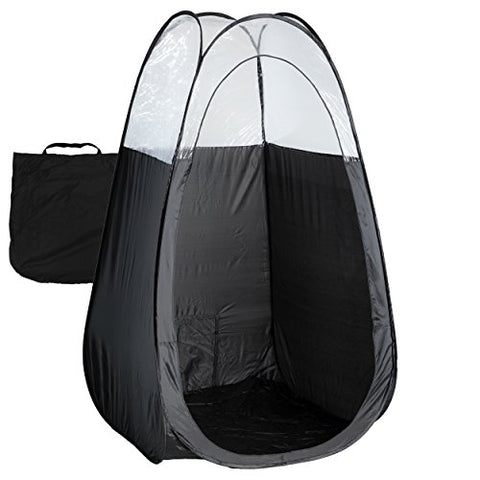 Black Spray Tan Tent with Carry Bag - Large - Body Botanicals