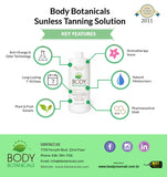 Body Botanicals Sunless Tanning Professional Solution Level 1, 7% DHA - Body Botanicals
