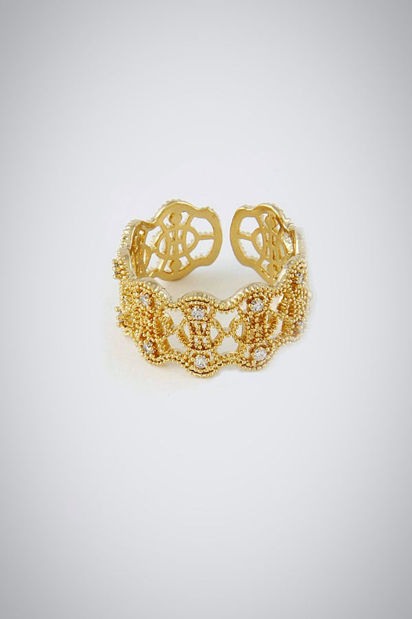 Filigree Royal Duchess Ring