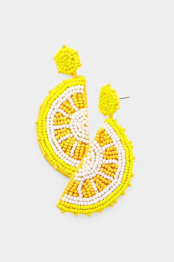 When Life Gives You Lemons Earrings - Embellish Your Life