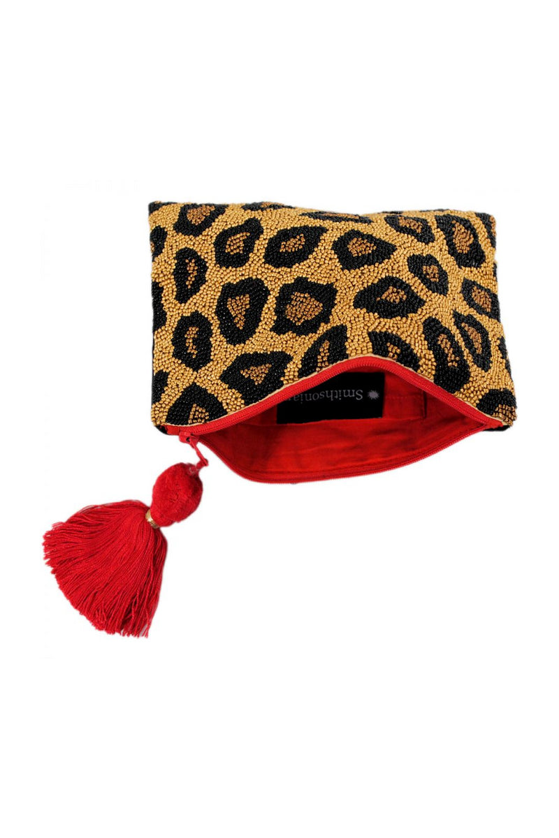 Leopard Beaded Clutch - Embellish Your Life