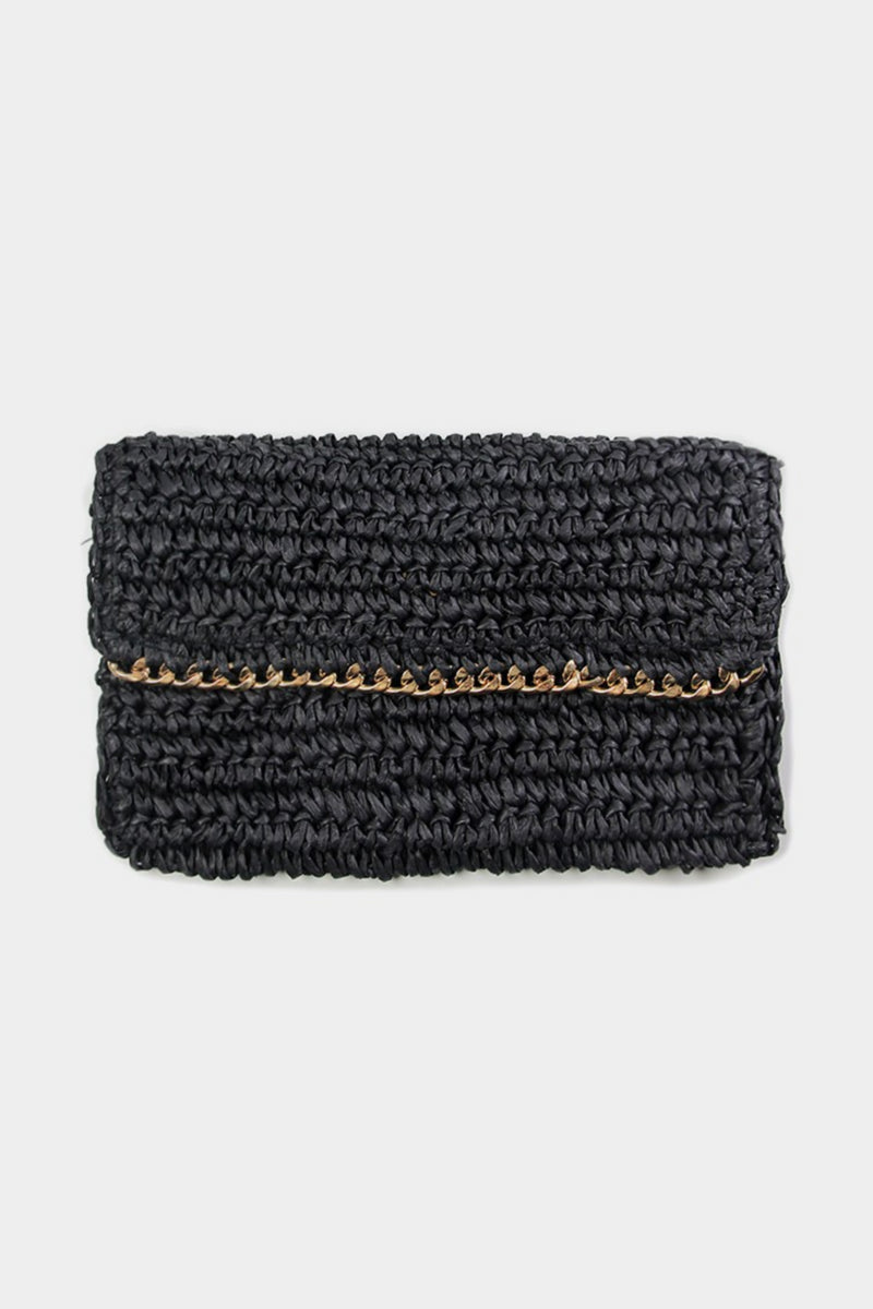 Straw and Chain Clutch