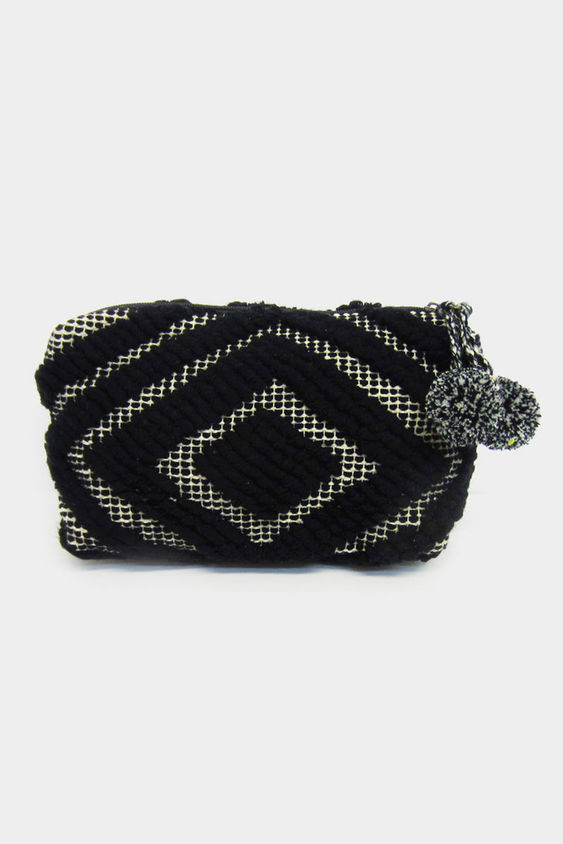 Boho Knit Clutch - Embellish Your Life