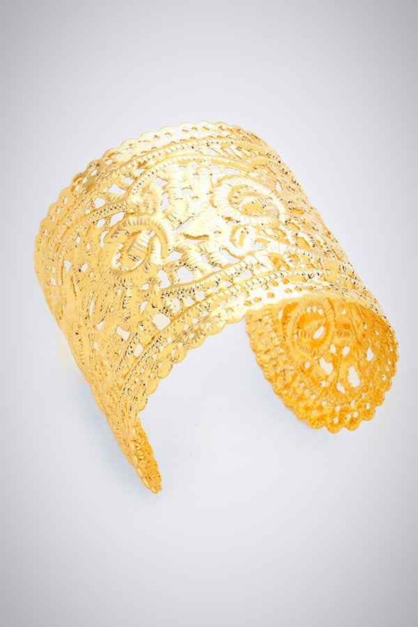 Lacey Cuff Bracelet - Embellish Your Life