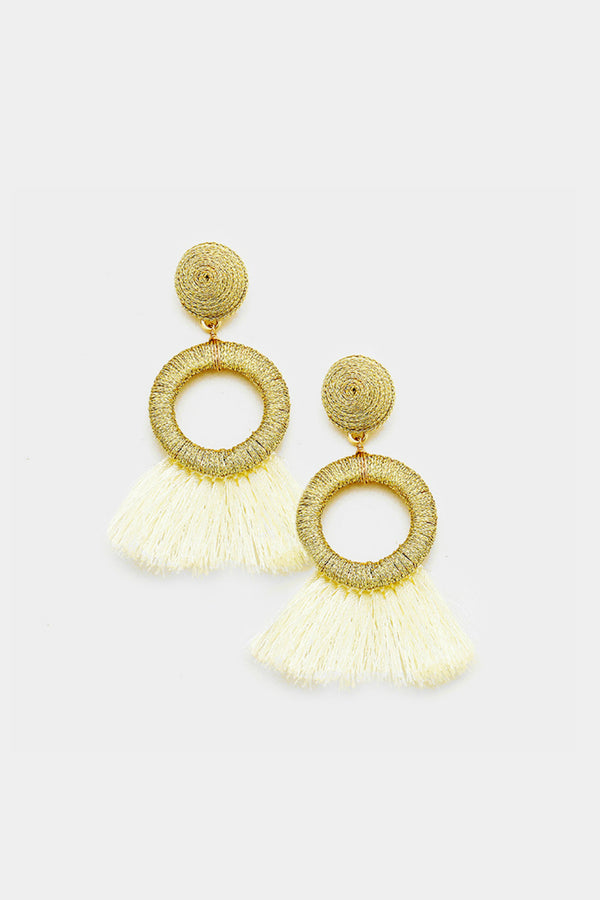 Flirty Fun Fringe Earrings - Embellish Your Life