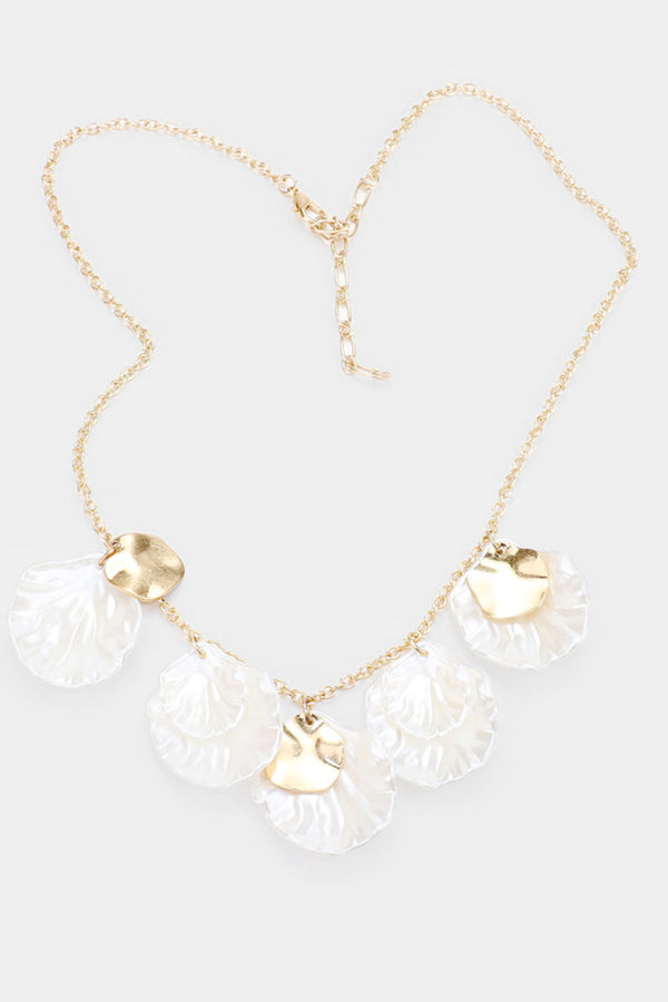 Flower Petal Necklace