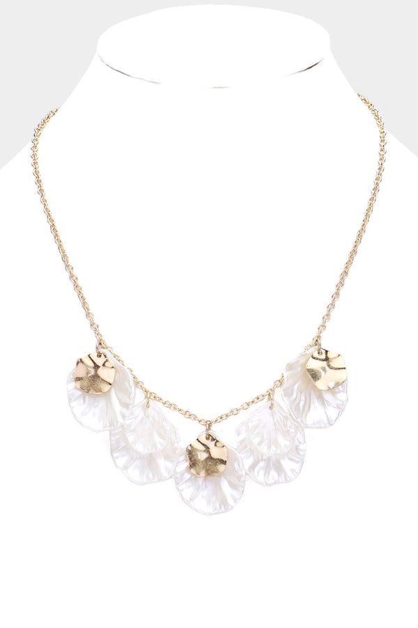 Flower Petal Necklace - Embellish Your Life
