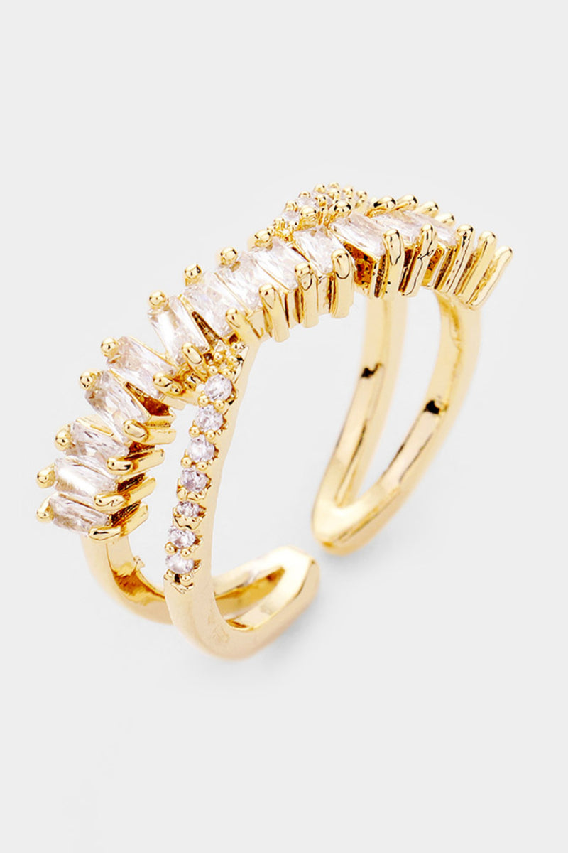 Cz Adjustable Ring - Embellish Your Life