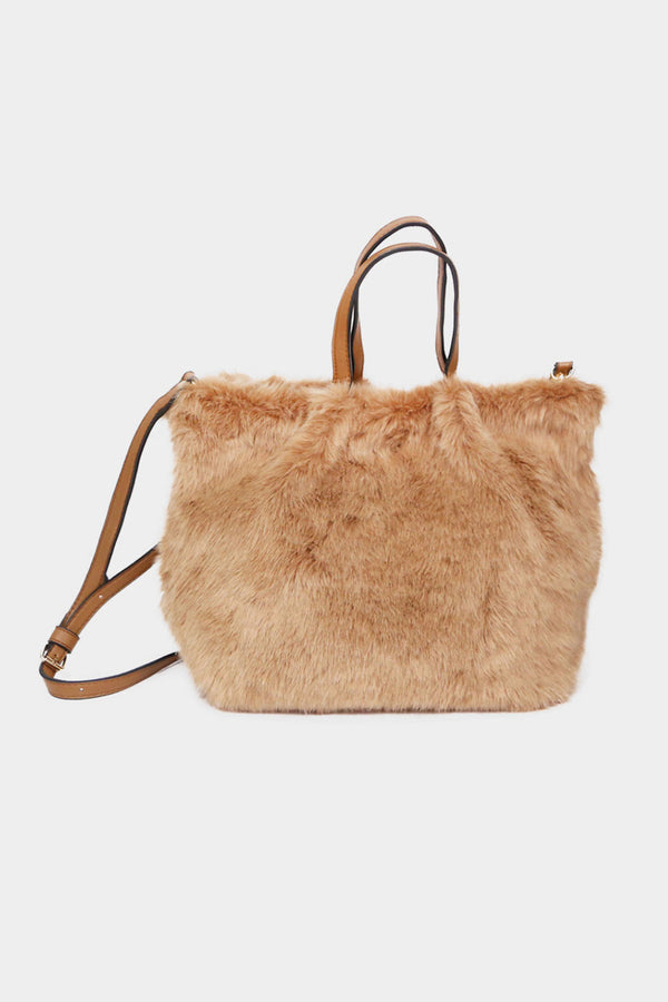 Faux Fur Versatile Bag
