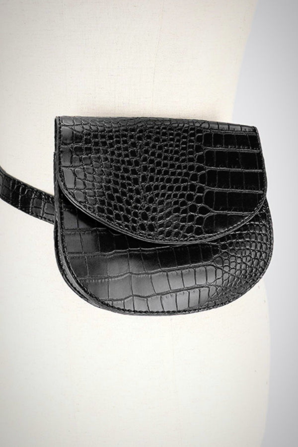 Alligator Belt Bag