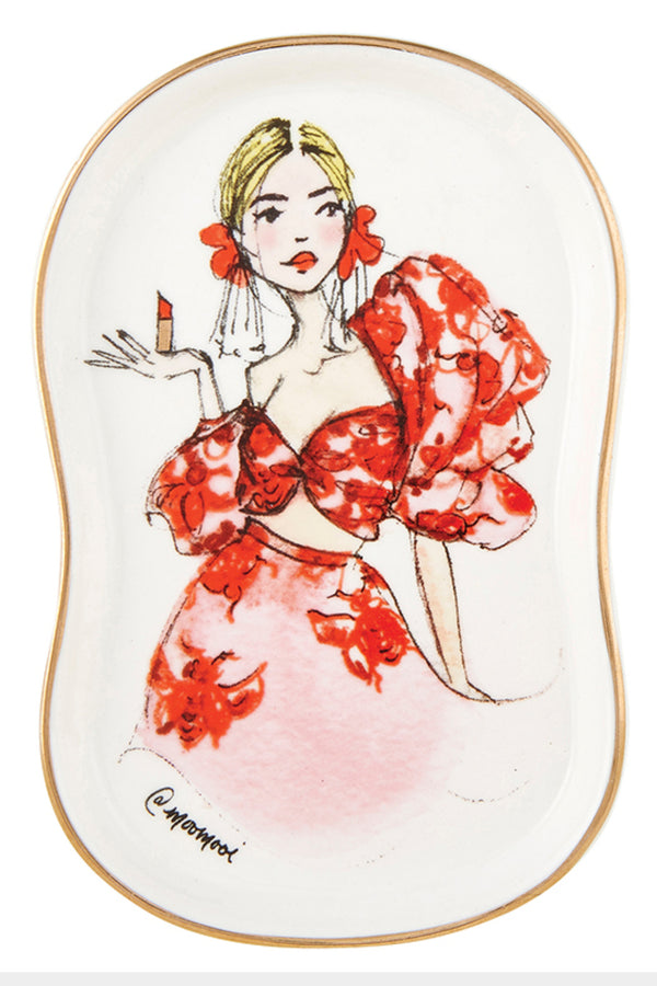 Glamour Girl Trinket Tray