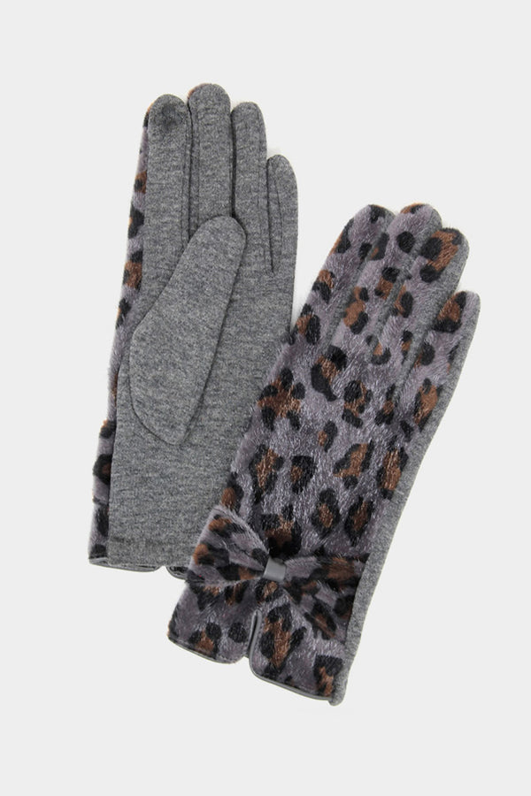 Leopard Smart Touch Gloves - Embellish Your Life