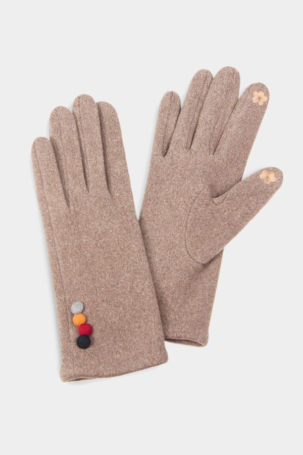 4 Button Gloves - Embellish Your Life