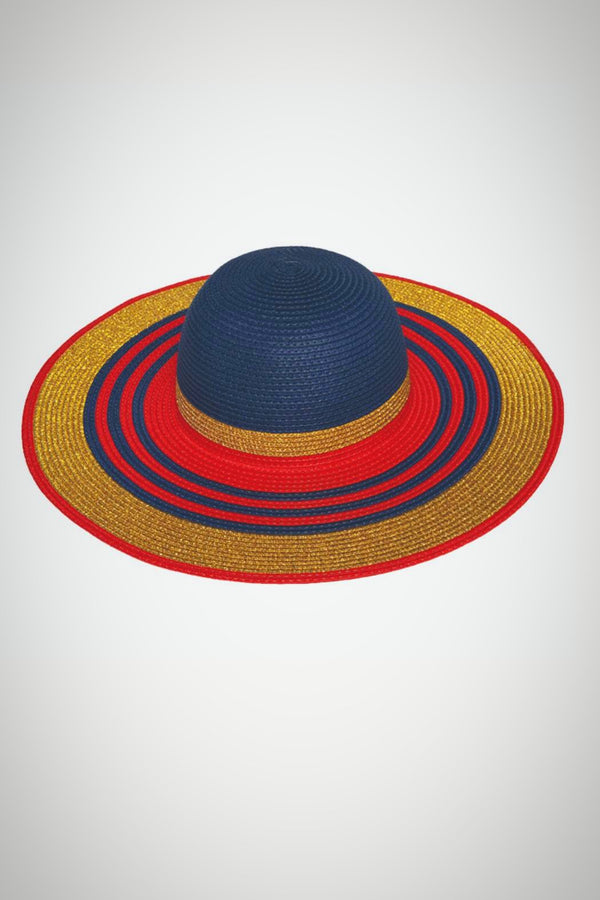 Patriotic Straw Hat