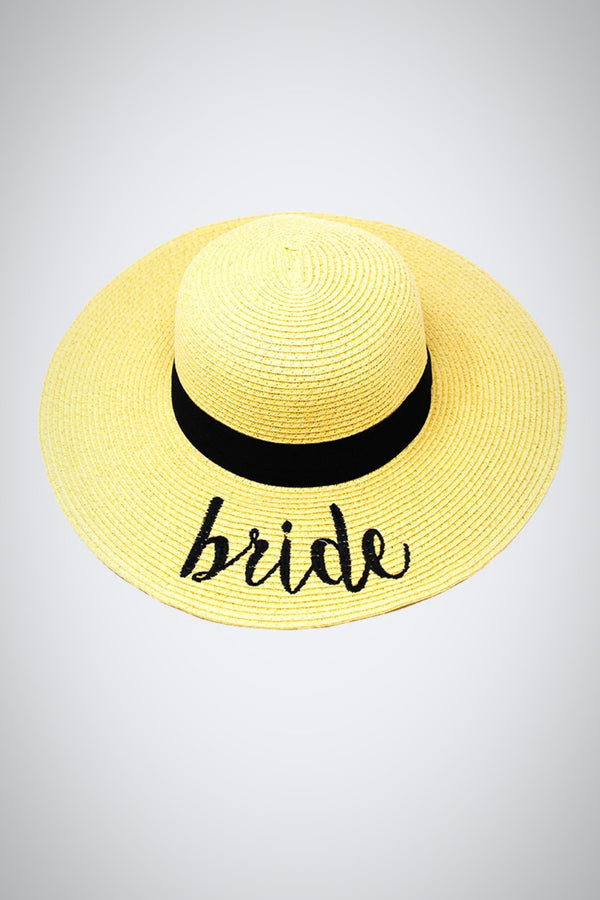 Bride Stay-Put Straw Hat
