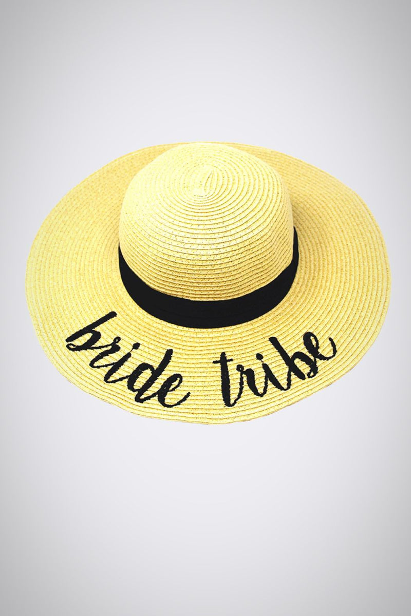 Bride Tribe Stay-Put Straw Hat